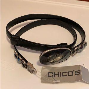 Chico's adjustable belt